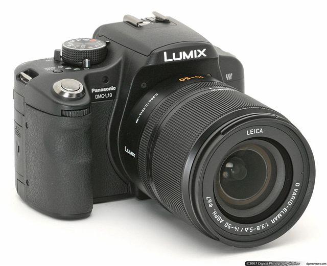 Panasonic Lumix DMC-L10 (IFA 2007)