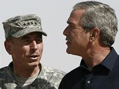 Petraeus a Bush
