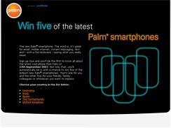GSM verze chystaného smartphonu Palm