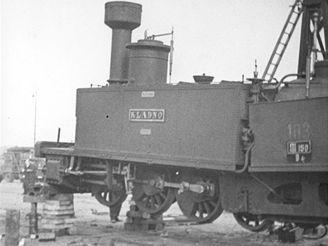 Stěhování lokomotivy Kladno do Národního technického muzea