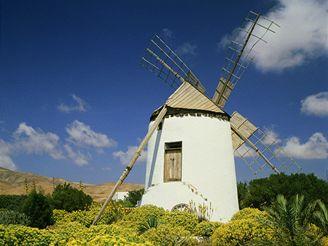 Větrné mlýny - Fuerteventura