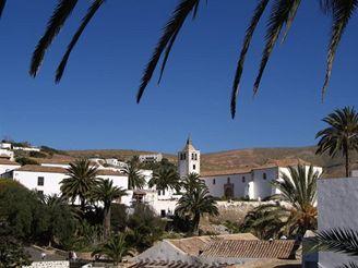 město Betancuria, Fuerteventura - Kanárské ostrovy