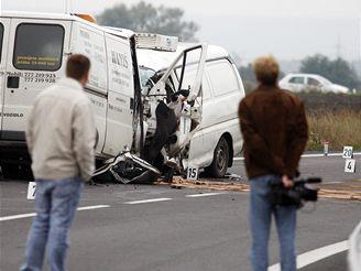 tragická nehoda u Chrudimi