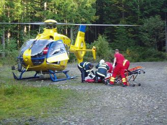 tragická nehoda mezi Makovem a Horní Bečvou (18.9.2007)