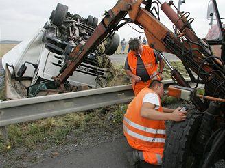 nehioda na silnici z Olomouce na Mohelnici (18.7. 2007)