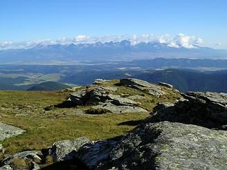 Vysoké Tatry zNízkých Tater
