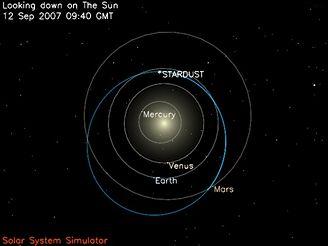 Stardust 12. září