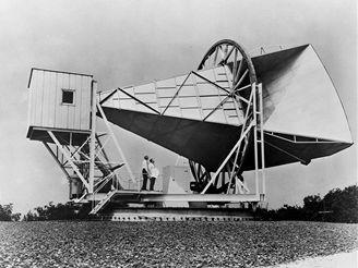 Pozemní stanice pro spojení s družicí Echo v Holmdelu