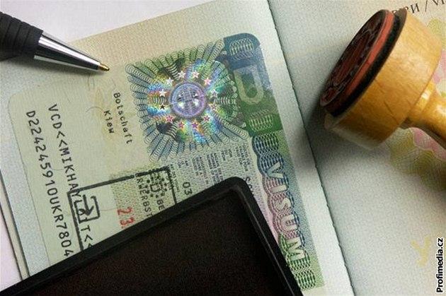 Cestovní pas, cestování, vízum - ilustra�ní foto