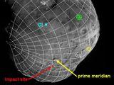 Jádro komety Tempel 1 (foto Deep Impact)