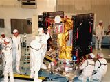 Montáž sondy Deep Space 1