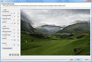 Zoner Photo Studio 10 - funkce HDR