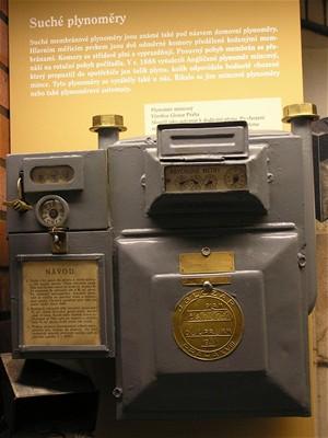 Mincovní plynoměr z roku 1948