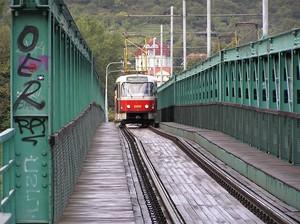 Tramvajový most Praha Troja