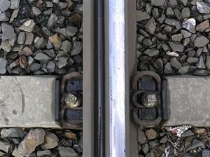 Detail upevnění koleje