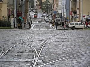 Velká tramvajová hvězda Dolní Palmovka