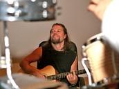 Richard Krajčo z kapely Kryštof na soustředění k akustickému turné