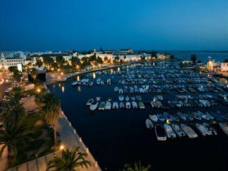 hlavní město Faro, Algarve, Portugalsko