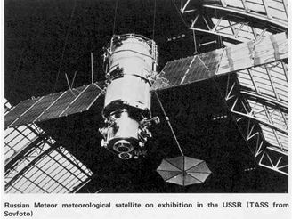 Ruská meteorologická družice typu Meteor-1