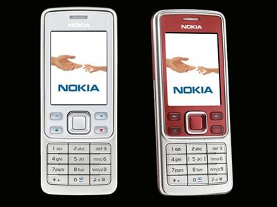 Nokia 6300 White a Red