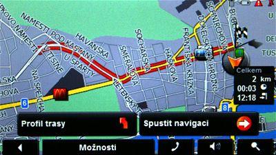 Displej Navigon 7110