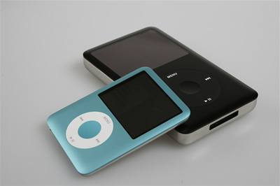iPod nano a iPod classic