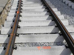 Rekonstrukce TT - štěrkové lože s betonovými pražci