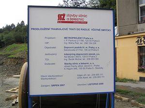 Nová tramvajová trať z Laurové do Radlic