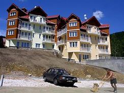 Výstavba v Krkonoších