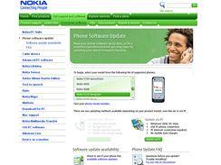 Průběh aktualizace telefonu Nokia pomocí služby Phone Software Update
