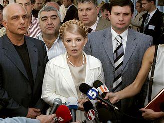 Parlamentní volby na Ukrajině - Julije Tymošenková