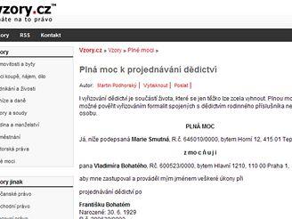 Vzory.cz