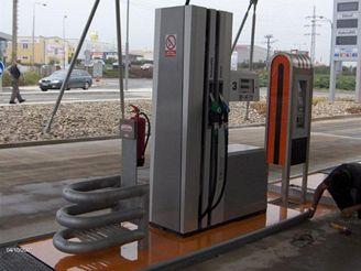Samoobslužná benzínka