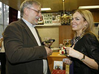 Dagmar Havlová a Zdeněk Zelenka