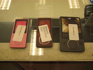 Flashové a HDD verze nového přehrávače Zune od Microsoftu