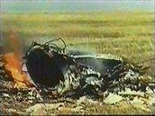 Místo dopadu Sojuzu 1