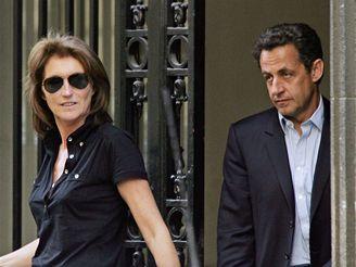 Nicolas Sarkozy a Cecilia
