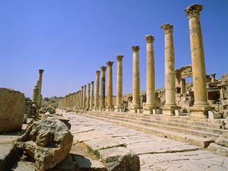 zříceniny Kartága, Tunisko