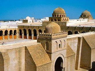 mešita v Kairouanu, Tunisko