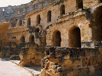 Amfiteátr v El Jemu, Tunisko