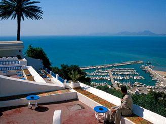 město Sidi Bou Said, Tunisko