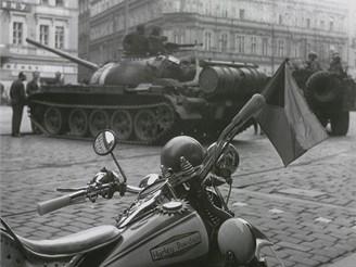 Dramatické události srpna 1968 v Praze
