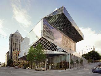 Veřejná knihovna v Seattlu