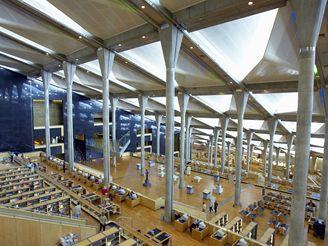 Velká knihovna v Alexandrii, Egypt