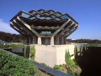 Univerzitní knihovna v San Diegu v Kalifornii