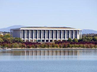 Národní knihovna v Austrálii, Canberra