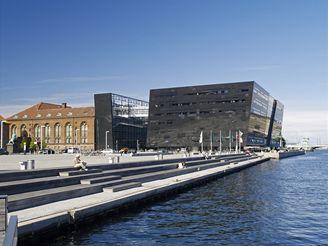 Dánská královská knihovna v Kodani