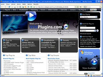 Plug-in do Windows Media Player