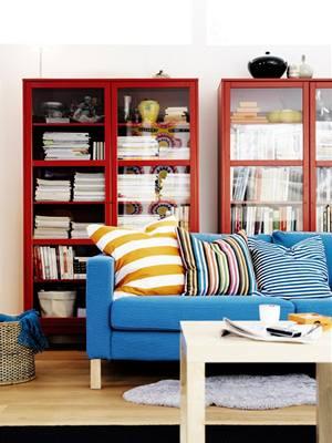 Obývací pokoj, Ikea