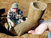 Archeolog s unikátním nálezem